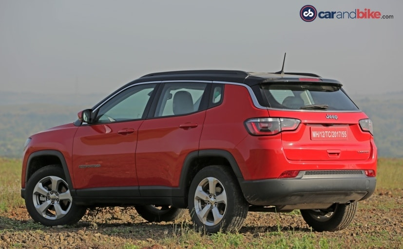 jeep compass petrol rear