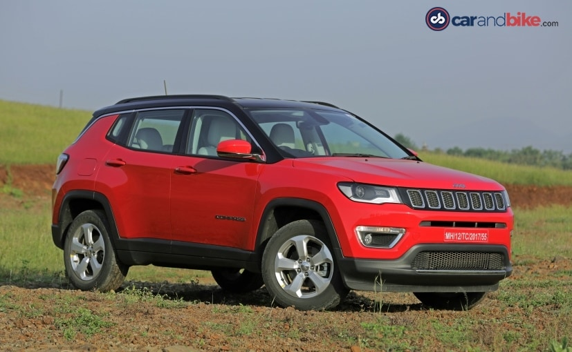 the jeep compass launched in july this year
