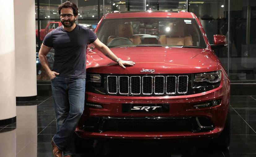 Saif Ali Khan is the latest owner of the Jeep Grand Cherokee SRT in the country