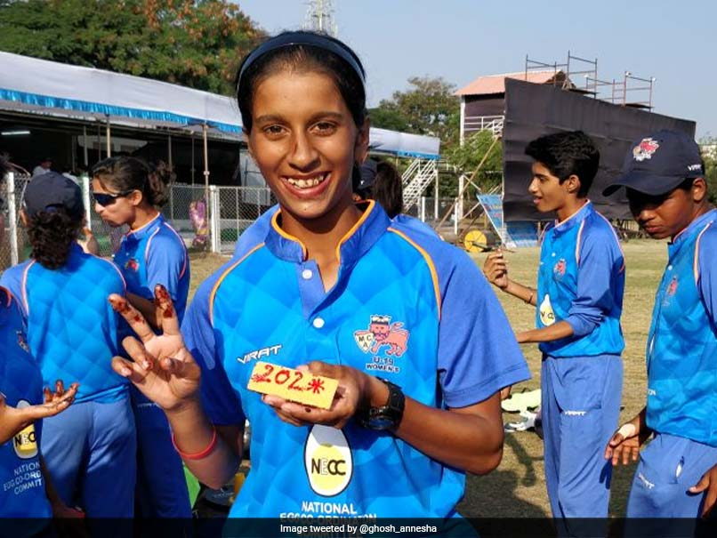 Mumbai Girl, Aged 16, Slams Double Century in 50-Over Match
