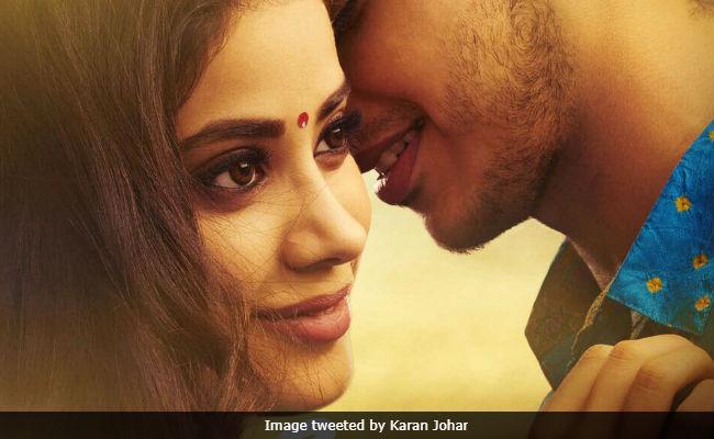 Jhanvi Kapoor In Dhadak Twitter Wants To Know How Long Karan Johar