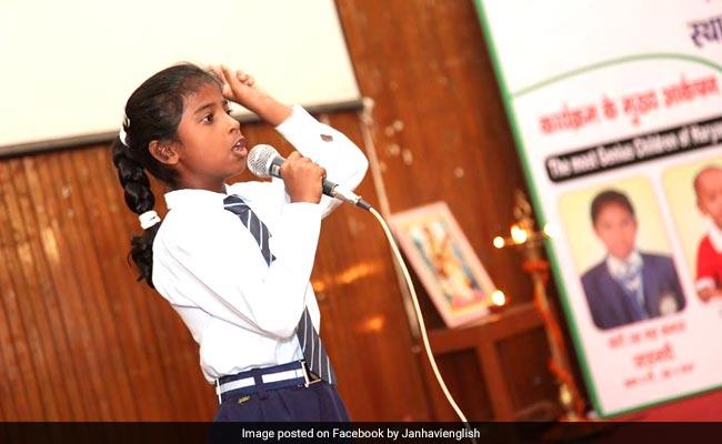 इस छोरी के आगे अंग्रेज भी अंग्रेजी बोलना छोड़ दे, मिलिए भारत की वंडर गर्ल से