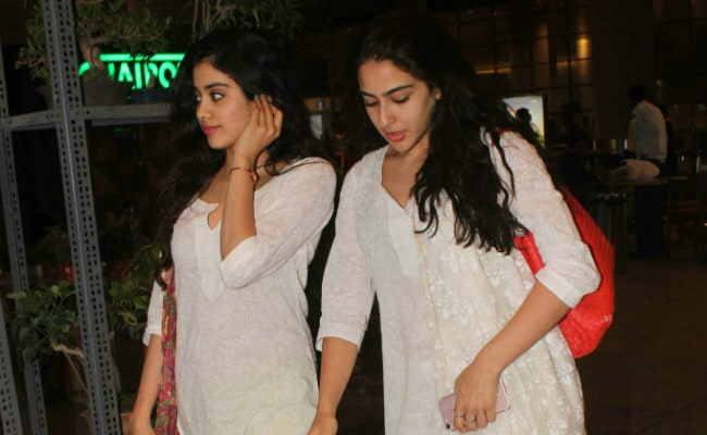 Sridevi Reacts To Comparisons Between Daughter Jhanvi, Sara Ali Khan