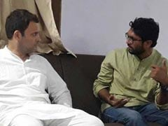 Gujarat Dalit Leader Jignesh Mevani Meets Rahul Gandhi, Gets Assurance On 90% Demands