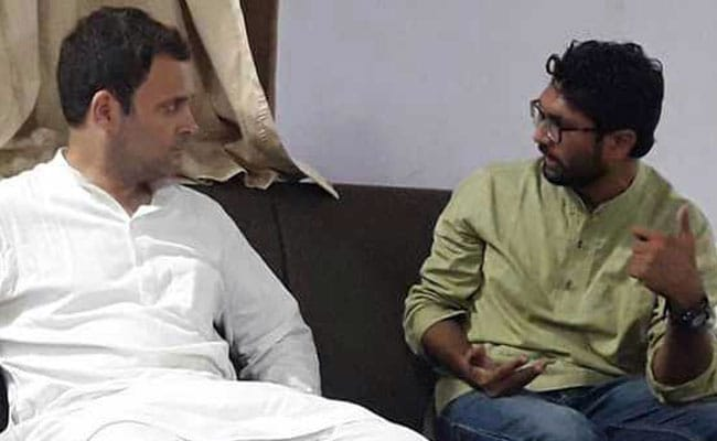 Gujarat Dalit Leader Jignesh Mevani Meets Rahul Gandhi, Gets Assurance On 90% Demands