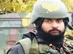 Before Falling To Terrorists' Bullets In Kashmir, Garud Commando Shot 3