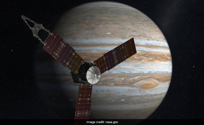 Solar Powered Spacecraft Juno Completes Its Eighth Flyby Of Jupiter: NASA