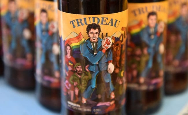 A Perfect Pint? Justin Trudeau Now Has A Craft Beer Named After Him