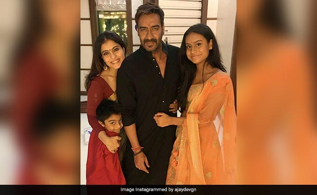 Kajol's 'Biggest Gurus' Are Her Daughter Nysa And Son Yug
