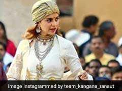 Viral Photos: जयपुर में कुछ यूं 'झांसी की रानी' बनी नजर आ रही हैं कंगना रनोट