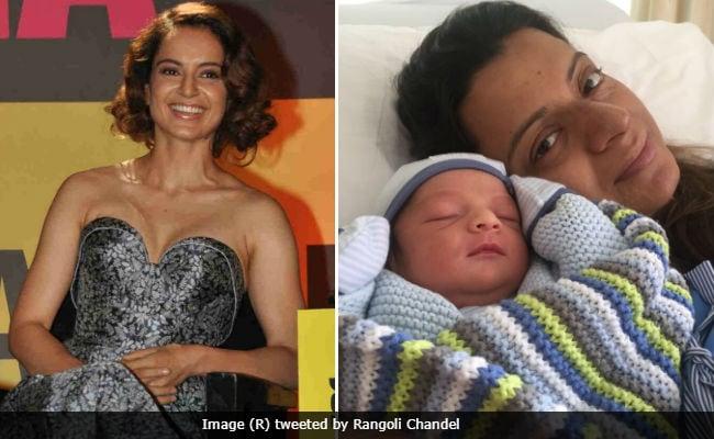 Meet Kangana Ranaut's Newborn Nephew. Rangoli Shares Pics Of Prithvi Raj