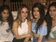Shah Rukh Khan's Birthday Bash: Suhana Parties With Chunky Pandey's Daughter Ananya And Friends