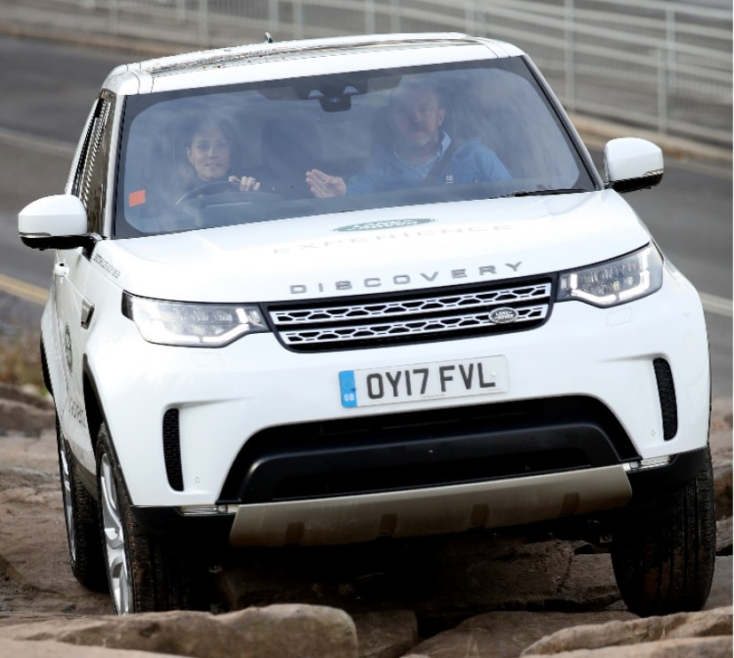 kate middleton driving discovery