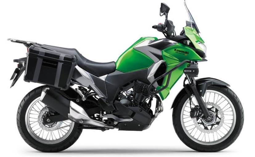 The new Kawasaki Versys-X 300 gets the same 300 cc parallel-twin engine that powers the Ninja 300