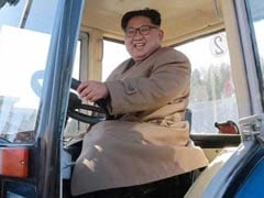 North Korea's Kim Jong-Un Trades Missiles For Tractors During Testing Lull
