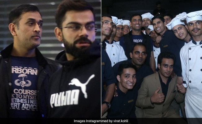 कोहली की पार्टी में दिखा धोनी का क्रेज, टीम इंडिया ने कुछ इस तरह की पार्टी, देखें Inside Photos