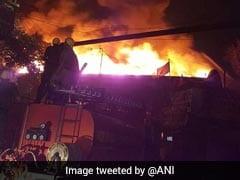 Huge Fire Sweeps Through Kolkata Godown, 20 Fire Engines On Spot