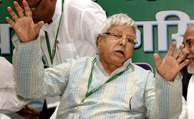 Centre Withdraws Lalu Yadav's 'Z+' NSG Security Cover