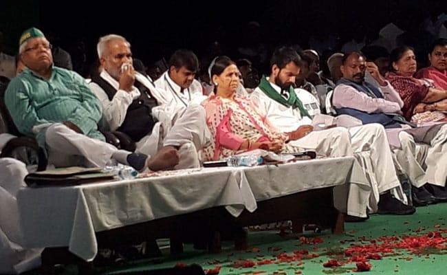 लालू प्रसाद यादव की 10वीं बार राजद के राष्ट्रीय अध्यक्ष के रूप में हुई विधिवत ताजपोशी
