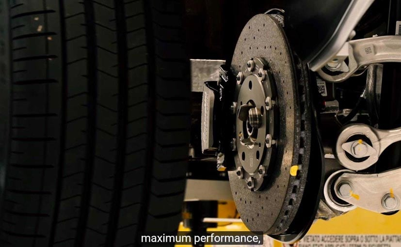 The Urus will be equipped with ceramic brakes