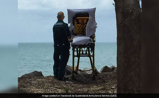 'Tears Were Shed' As Paramedics Granted Dying Woman's Wish To Visit Beach