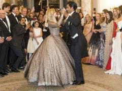 Pics: Jaipur's Padmanabh Singh Waltzes Reese Witherspoon's Daughter Ava At Paris Ball