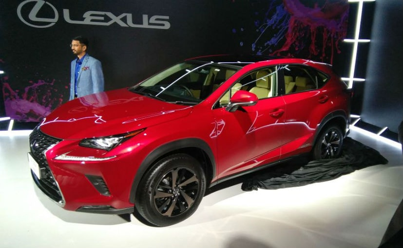 lexus nx 300h hybrid suv debuts in india to be priced around rs 60 lakh ndtv carandbike. Black Bedroom Furniture Sets. Home Design Ideas