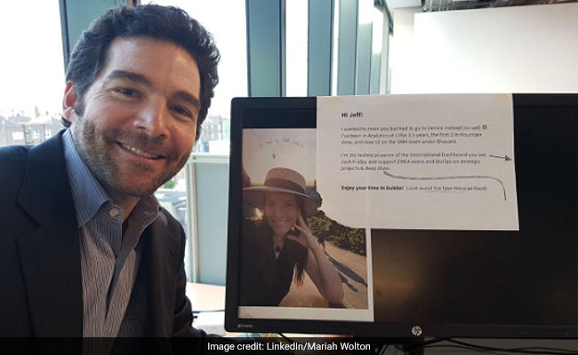 LinkedIn CEO Takes Selfie At Employee's Desk. Here's Why It's Viral