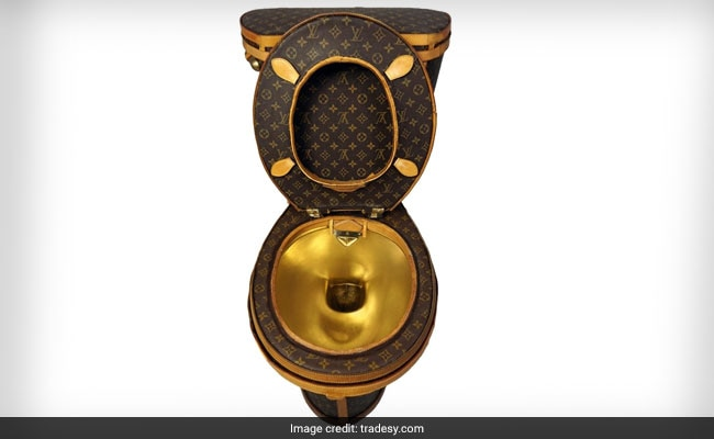 Fancy This 'Loo-uis Vuitton' Toilet? It Only Costs $100,000