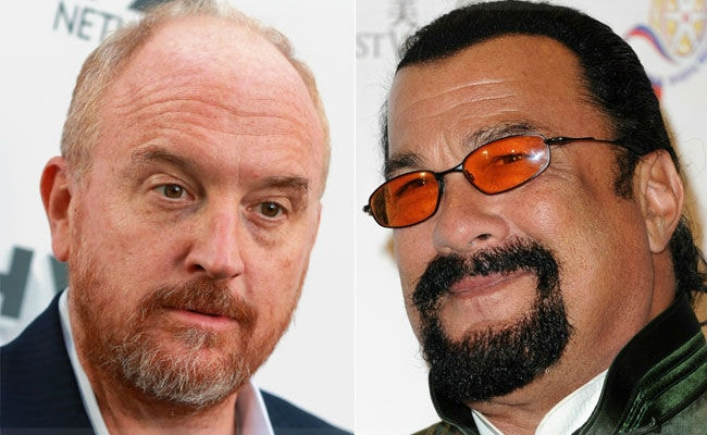 Louis CK, Steven Seagal Latest To Be Accused Of Sexual Misconduct In Post-Weinstein Hollywood