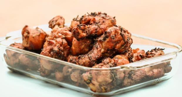 low fat pepper chicken dry recipe