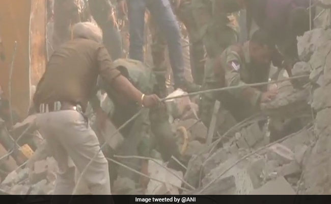 Ten people killed as building collapses post fire in Ludhiana