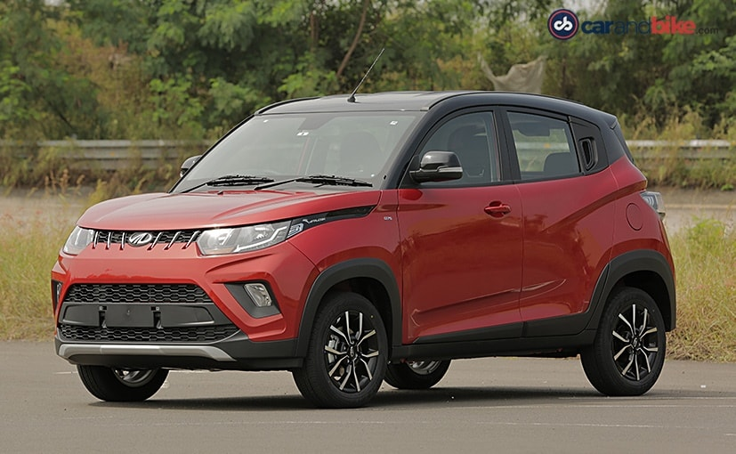 Mahindra KUV100 NXT comes with new styling and a host of new features