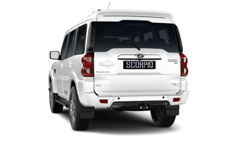 mahindra scorpio facelift rear