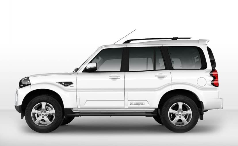 mahindra scorpio facelift side