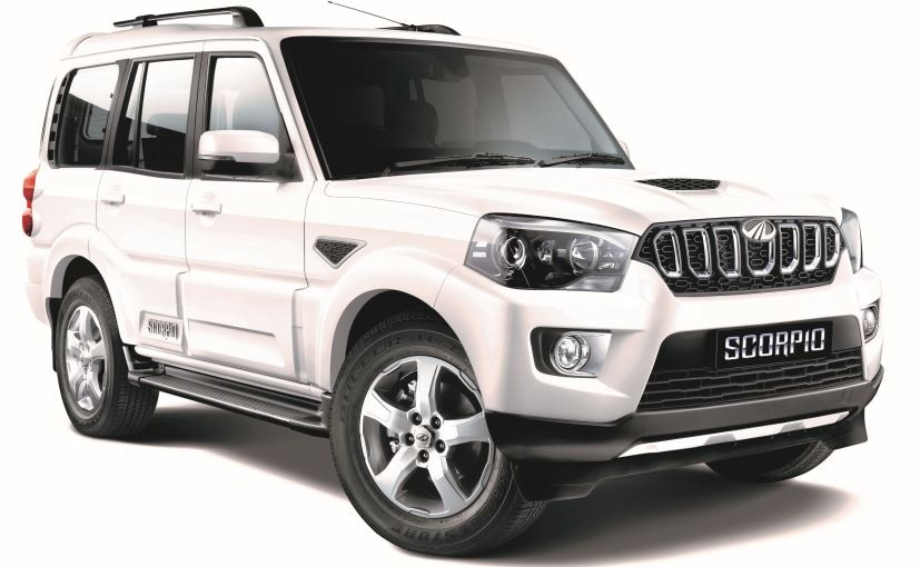2017 Mahindra Scorpio facelift comes in 4 variants - S3, S5, S7, and S11