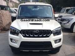 2017 Mahindra Scorpio Spotted Testing Again Ahead Of Launch