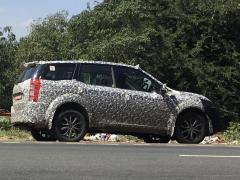 Mahindra XUV500 Facelift Spotted Alongside Tivoli-Based S201 And TUV300 Plus