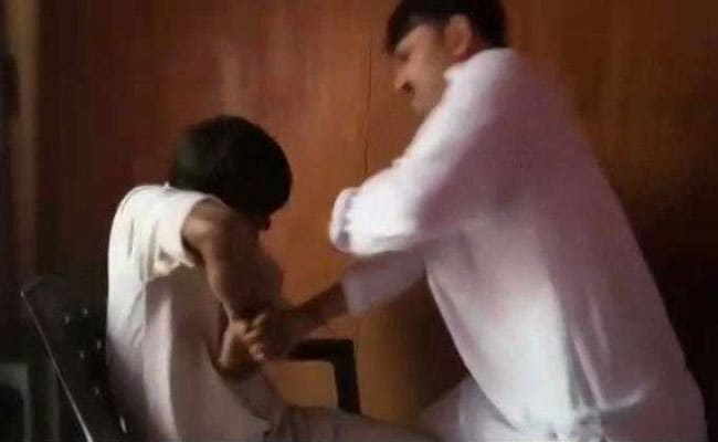 After Beating Man With Slipper For Rs 50,000, UP Loan Shark Shared Video