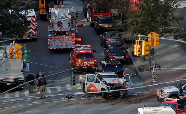 Note On Allegiance To ISIS Found After Manhattan Truck Attack Kills 8