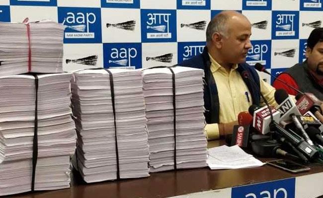 इनकम टैक्स नोटिस पर भड़की AAP, मनीष सिसोदिया ने कहा, बीजेपी-कांग्रेस से सवाल क्यों नहीं?