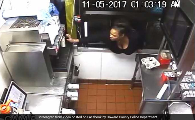 Woman Steals Food, Cash By Climbing Through McDonald's Window