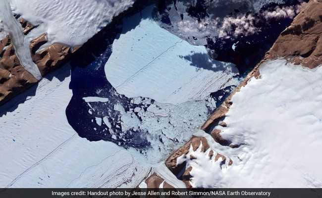 The Melting Glaciers That Might Someday Drown Your City, Says NASA