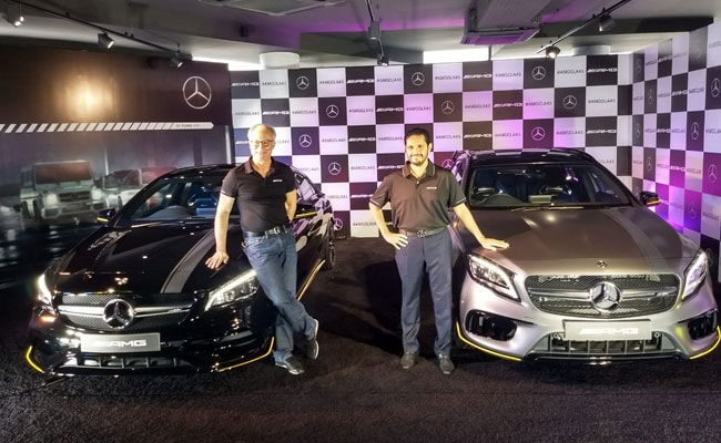 Mercedes Amg Gla 45 And Cla 45 Launched In India Price Starts At Rs