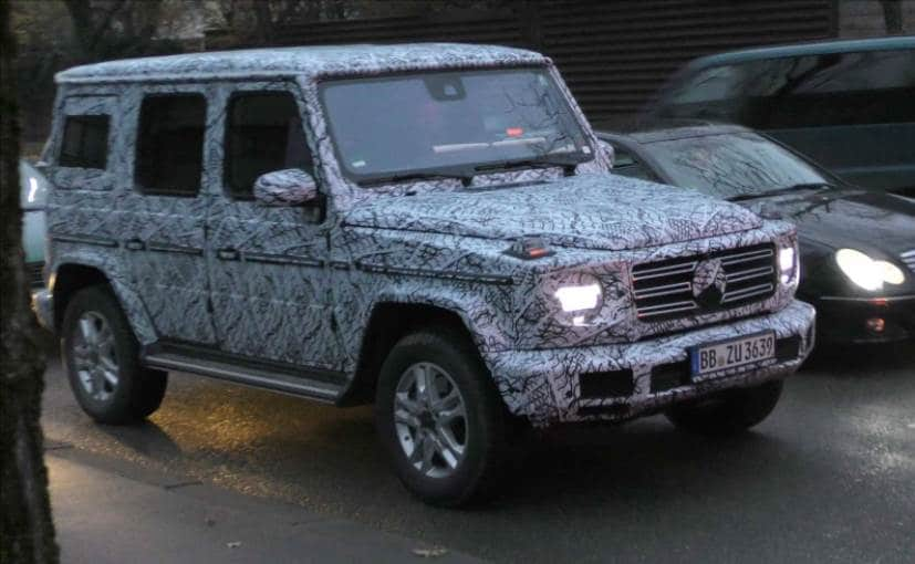 Next Gen Mercedes Benz G Class Cabin Uncovered In Latest Spy Images