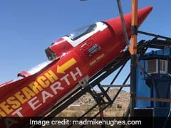 He's About To Launch Himself In Homemade Rocket To Prove Earth Is Flat