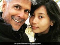 Seen Milind Soman's Birthday Selfie With Girlfriend Ankita Konwar From Norway Yet?