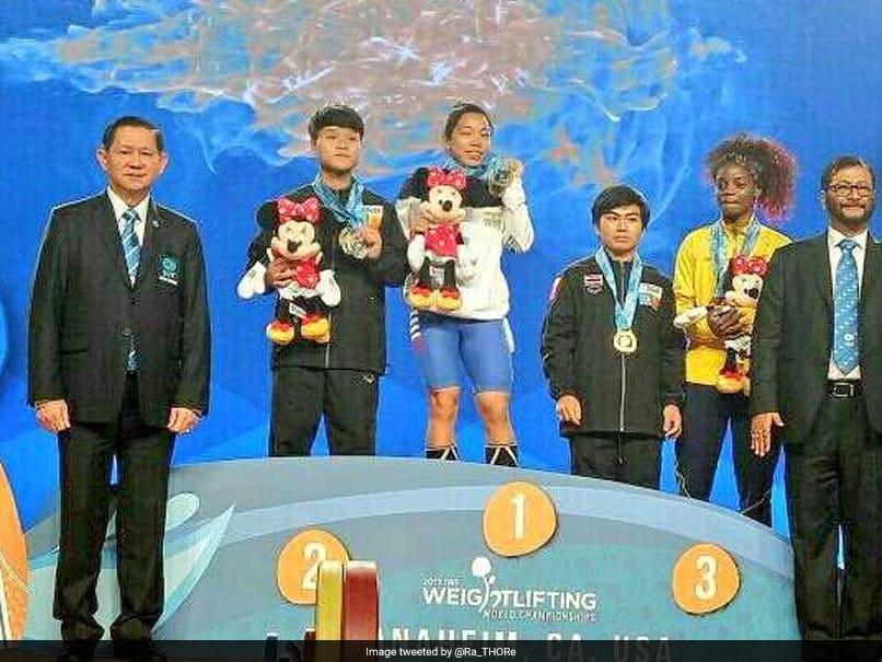 Mirabai Chanu wins gold at Weightlifting World Championship