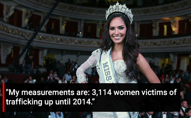 Not 36-24-36, Contestants At This Pageant Shared Gender Violence Stats
