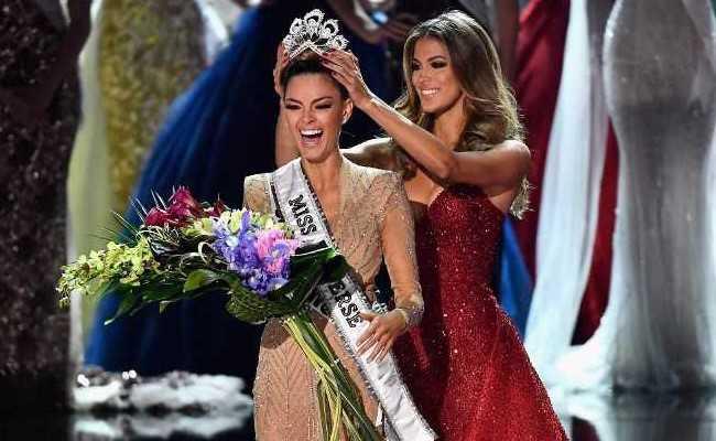 Miss Universe-2017 में भारत को झटका, दक्षिण अफ्रीका की डेमी-ले नेल-पीटर्स के सिर सजा ताज